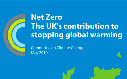 CCC report – Net zero: The UK's contribution to stopping global warming – Key outcomes