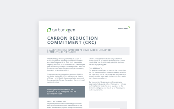 Carbon Reduction Commitment (CRC)