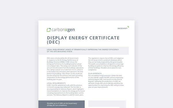 Display Energy Certificate (DEC)