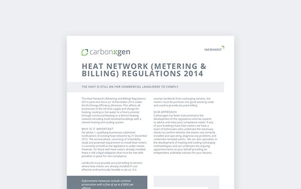 Heat Network (Metering & Billing) Regulations 2014