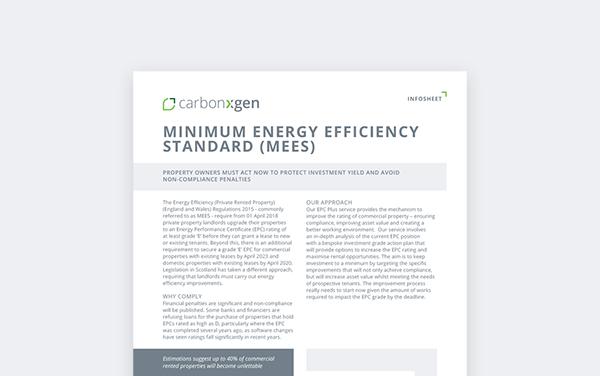 Minimum Energy Efficiency Standard (MEES)
