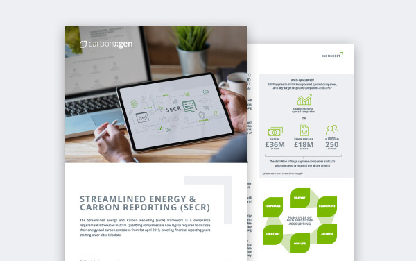 Streamlined Energy and Carbon Reporting Framework (SECR)