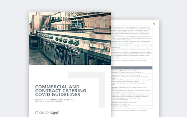 COMMERCIAL AND CONTRACT CATERING COVID GUIDELINES
